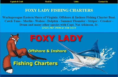 Foxy Lady Fishing Charters